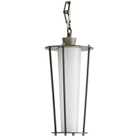 Arteriors 49216 Sorel 1 Light 8 inch Aged Iron with Nickel Accents Outdoor Pendant