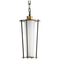 Arteriors 49217 Sorel 1 Light 8 inch Aged Brass with Antique Brass Accents Outdoor Pendant