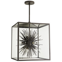 Arteriors 49225 Zanadoo 12 Light 18 inch Aged Iron Outdoor Pendant