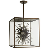 Arteriors 49226 Zanadoo 12 Light 18 inch Aged Brass Outdoor Pendant