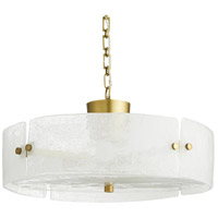 Arteriors 49244 Selma 4 Light 20 inch Antique Brass Pendant Ceiling Light