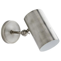 Arteriors 49259 Thomas 1 Light 5 inch Vintage Silver Sconce Wall Light