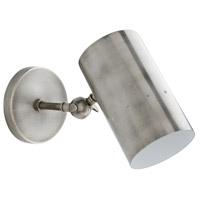Arteriors 49259 Thomas 1 Light 5 inch Vintage Silver Sconce Wall Light