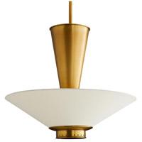 Arteriors 49263 Tavoli 7 Light 23 inch Antique Brass Pendant Ceiling Light