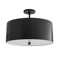 Arteriors 49268 Tarbell 3 Light 20 inch Bronze Semi-Flush Mount Ceiling Light