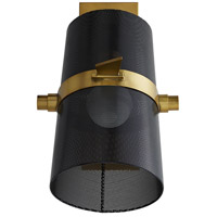 Arteriors 49270 Yasmin 1 Light 7 inch Antique Brass Sconce Wall Light