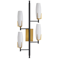 Arteriors 49272 Keifer 4 Light 16 inch Antique Brass Sconce Wall Light, Right