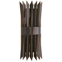 Arteriors 49275 Waldorf 2 Light 6 inch Heritage Brass Sconce Wall Light