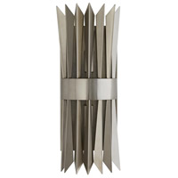 Arteriors 49276 Waldorf 2 Light 6 inch Vintage Silver Sconce Wall Light