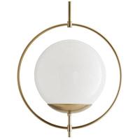 Arteriors 49330 Volta 1 Light 24 inch Pale Brass Pendant Ceiling Light