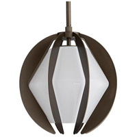 Arteriors 49336 Puzol 1 Light 13 inch Aged Brass Outdoor Pendant
