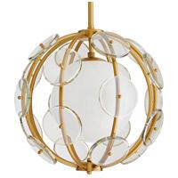 Arteriors 49345 Westport 1 Light 18 inch Antique Brass Pendant Ceiling Light