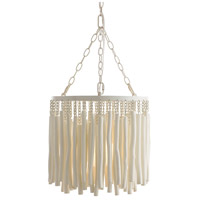 Arteriors 49558 Tilda 1 Light 15 inch Whitewashed Pendant Ceiling Light, Round