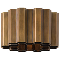 Arteriors 49702 Hive 1 Light 10 inch Antique Brass Sconce Wall Light Round