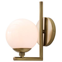 Quimby 1 Light 6 inch Antique Brass Wall Sconce Wall Light
