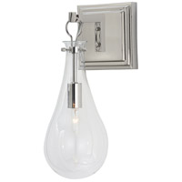 Arteriors 49984 Sabine 1 Light 6 inch Polished Nickel Sconce Wall Light Essential Lighting