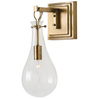Sabine 1 Light 6 inch Antique Brass Wall Sconce Wall Light