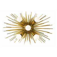 Zanadoo 5 Light 18 inch Antique Brass Wall Sconce Wall Light