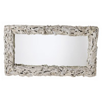 Arteriors 5407 Bodega 54 X 31 inch Distressed Whitewash Wall Mirror