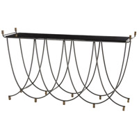Felice 62 inch Natural Iron/Antique Brass Console Home Decor, Rectangle