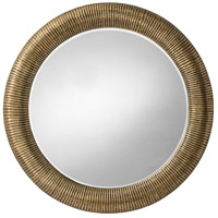 Elton Antique Brass Mirror Home Decor, Round