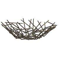 Grazia Natural Iron and Brass Welds Centerpiece