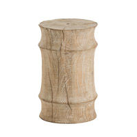 Arteriors 6310 Jesup 18 inch Limed Wash Stool