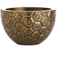 Arteriors 6362 Kimo Antique Brass Container