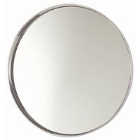 Arteriors 6497 Ollie Polished Nickel Wall Mirror