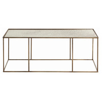 Arteriors 6531 Othello 48 X 19 inch Antique Brass Cocktail Table