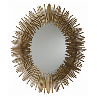 Arteriors 6561 Prescott 41 X 34 inch Antiqued Gold Leaf Wall Mirror