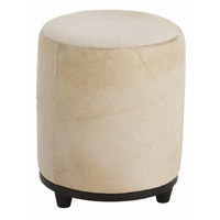 Arteriors 6751 Wimberley 19 inch White and Black Ottoman