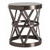 Arteriors 6777 Costello 22 inch Natural Iron and Brass Welds Side Table