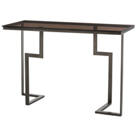 Tisha 48 X 20 inch Burnt Wax Console Table Home Decor