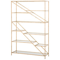 Arteriors 6814 Ingram Gold Leaf Bookshelf