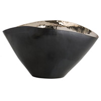 Millicent Dark Bronze and Polished Nickel Centerpiece, Large