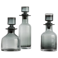 Arteriors 7509 OConnor 14 X 4 inch Decanters, Set of 3