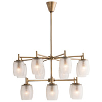 Greenwich 14 Light 34 inch Antique Brass Chandelier Ceiling Light