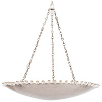Arteriors 82014 Gramercy 6 Light 32 inch Vintage Silver Chandelier Ceiling Light