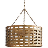 Arteriors 86026 Ugo 3 Light 31 inch Antique Brass Chandelier Ceiling Light