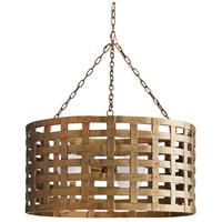 Arteriors 86026 Ugo 3 Light 31 inch Antique Brass Chandelier Ceiling Light