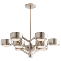 Jalen 9 Light 30 inch Vintage Silver Chandelier Ceiling Light