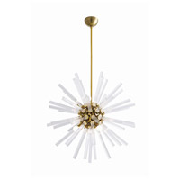 Arteriors 89011 Hanley 8 Light 30 inch Antique Brass Chandelier Ceiling Light Small