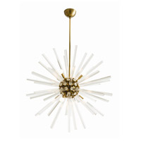 Arteriors 89012 Hanley 8 Light 37 inch Antique Brass Chandelier Ceiling Light Large