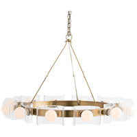 Valerie 12 Light 38 inch Antique Brass Chandelier Ceiling Light