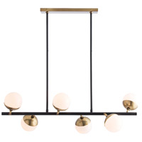 Wahlburg 6 Light 42 inch Oil Rubbed Bronze Chandelier Ceiling Light