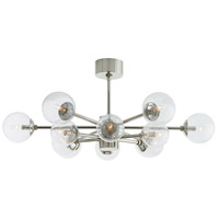 Karrington 12 Light 37 inch Polished Nickel Chandelier Ceiling Light, Round