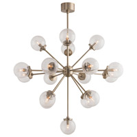 Henderson 17 Light 39 inch Pale Brass Chandelier Ceiling Light