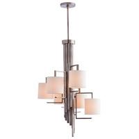 Arteriors 89048 Elijah 6 Light 24 inch Vintage Silver Chandelier Ceiling Light Round
