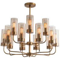 Hammond 15 Light 30 inch Antique Brass Chandelier Ceiling Light